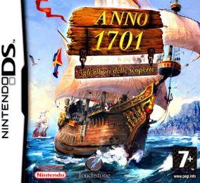 Immagine della copertina del gioco Anno 1701 - Agli Albori delle Scoperte per Nintendo DS