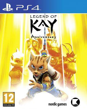 Copertina del gioco Legend Of Kay Anniversary per Playstation 4