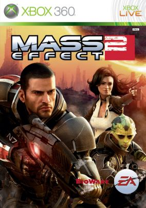 Copertina del gioco Mass Effect 2 per Xbox 360