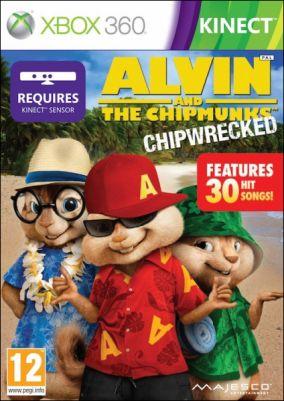 Copertina del gioco Alvin & The Chipmunks per Xbox 360