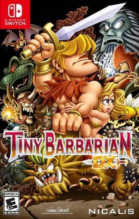 Copertina del gioco Tiny Barbarian DX per Nintendo Switch