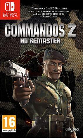 Copertina del gioco Commandos 2 - HD Remaster per Nintendo Switch