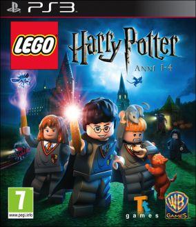 Immagine della copertina del gioco LEGO Harry Potter: Anni 1-4 per PlayStation 3