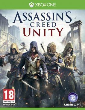 Immagine della copertina del gioco Assassin's Creed Unity per Xbox One
