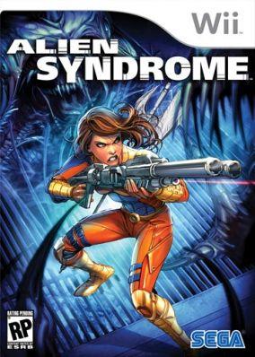 Immagine della copertina del gioco Alien Syndrome per Nintendo Wii