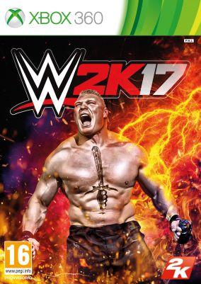 Immagine della copertina del gioco WWE 2K17 per Xbox 360