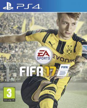 Immagine della copertina del gioco FIFA 17 per PlayStation 4