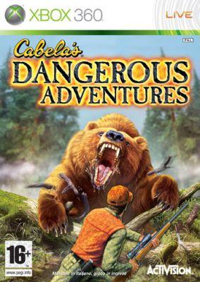 Immagine della copertina del gioco Cabela's Dangerous Adventures per Xbox 360
