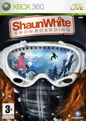 Copertina del gioco Shaun White Snowboarding per Xbox 360