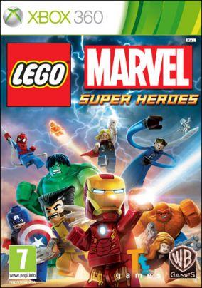 Copertina del gioco LEGO Marvel Super Heroes per Xbox 360