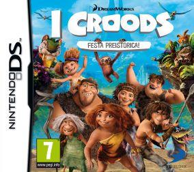 Copertina del gioco I Croods: Festa Preistorica per Nintendo DS