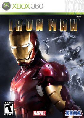 Copertina del gioco Iron man per Xbox 360