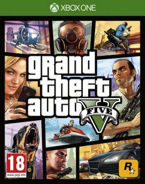 Immagine della copertina del gioco Grand Theft Auto V - GTA 5 per Xbox One