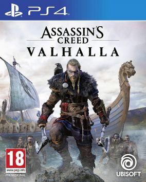 Immagine della copertina del gioco Assassin's Creed Valhalla per PlayStation 4