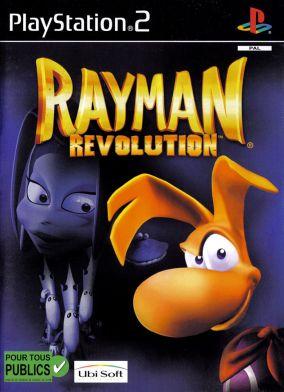 Immagine della copertina del gioco Rayman Revolution per PlayStation 2