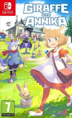 Immagine della copertina del gioco Giraffe and Annika per Nintendo Switch