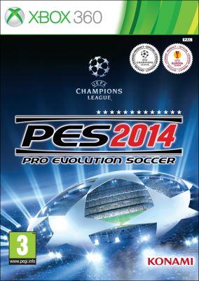 Copertina del gioco Pro Evolution Soccer 2014 per Xbox 360