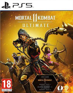 Immagine della copertina del gioco Mortal Kombat 11 Ultimate per PlayStation 5
