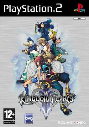Immagine della copertina del gioco Kingdom Hearts II per PlayStation 2