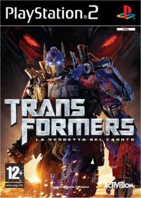 Copertina del gioco Transformers: La Vendetta del Caduto per PlayStation 2