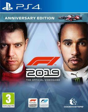 Immagine della copertina del gioco F1 2019 per PlayStation 4