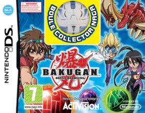 Immagine della copertina del gioco Bakugan per Nintendo DS