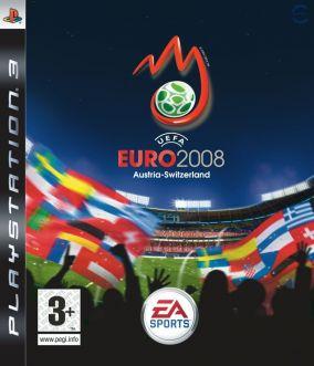 Copertina del gioco UEFA Euro 2008 per PlayStation 3