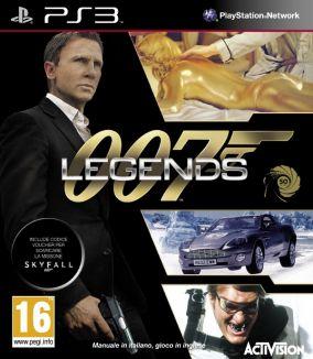 Copertina del gioco 007 Legends per PlayStation 3