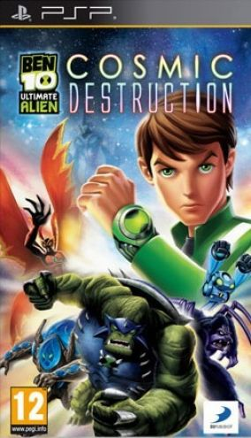 Copertina del gioco Ben 10: Ultimate Alien: Cosmic Destruction per Playstation PSP