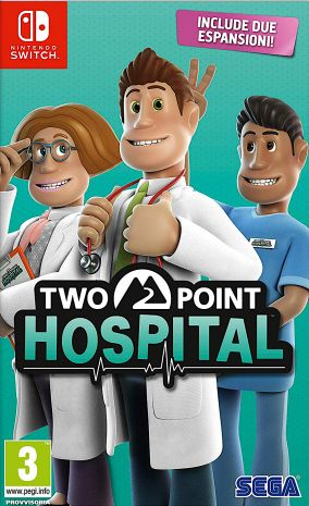Copertina del gioco Two Point Hospital per Nintendo Switch