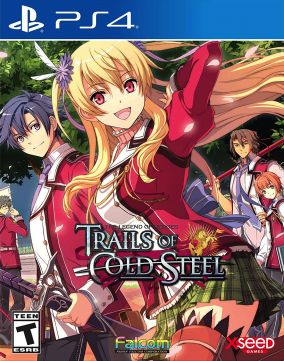 Immagine della copertina del gioco The Legend of Heroes: Trails of Cold Steel Decisive Edition per PlayStation 4