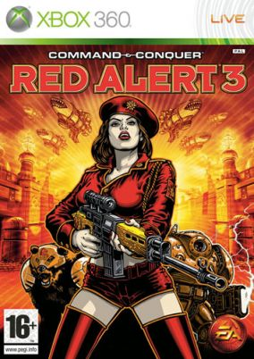 Copertina del gioco Command & Conquer: Red Alert 3 per Xbox 360