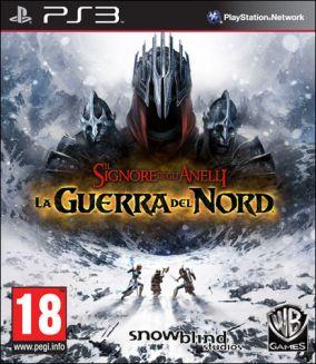 Immagine della copertina del gioco Il Signore Degli Anelli: Guerra del Nord per PlayStation 3