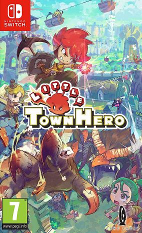 Copertina del gioco Little Town Hero Big Idea Edition per Nintendo Switch