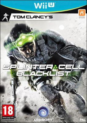 Immagine della copertina del gioco Splinter Cell Blacklist per Nintendo Wii U