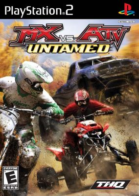 Copertina del gioco MX vs. ATV Untamed per PlayStation 2