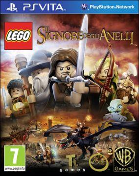 Immagine della copertina del gioco LEGO Il Signore degli Anelli per PSVITA