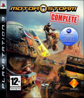 Copertina del gioco MotorStorm Complete Edition per PlayStation 3