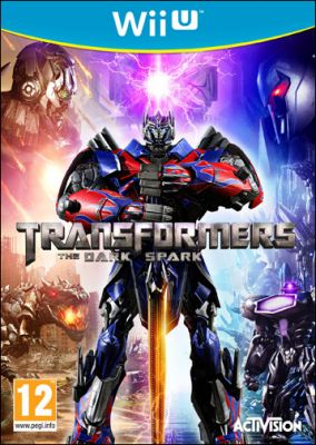Copertina del gioco Transformers: Rise of the Dark Spark per Nintendo Wii U