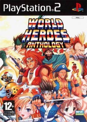 Copertina del gioco World Heroes Anthology per PlayStation 2