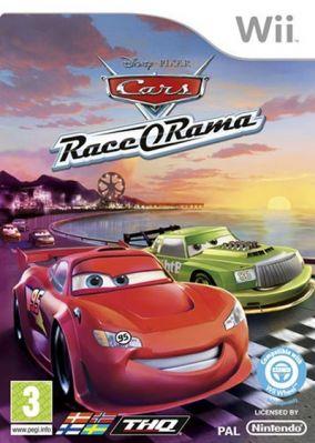 Immagine della copertina del gioco Cars Race-O-Rama per Nintendo Wii