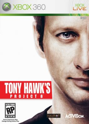 Immagine della copertina del gioco Tony Hawk's Project 8 per Xbox 360