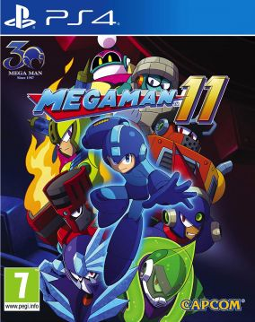 Immagine della copertina del gioco Mega Man 11 per PlayStation 4