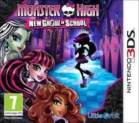 Immagine della copertina del gioco Monster High: Una nuova Mostramica a Scuola per Nintendo 3DS