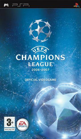 Immagine della copertina del gioco UEFA Champions League 2006-2007 per PlayStation PSP