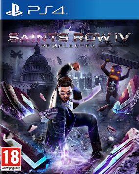 Copertina del gioco Saints Row IV: Re-Elected per PlayStation 4