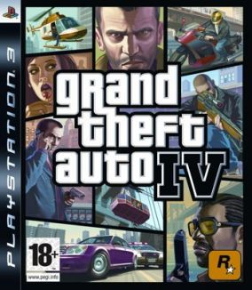 Copertina del gioco Grand Theft Auto IV - GTA 4 per PlayStation 3