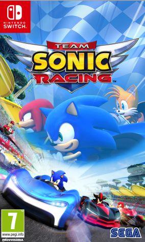 Immagine della copertina del gioco Team Sonic Racing per Nintendo Switch