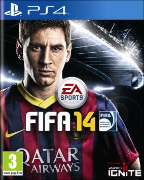 Immagine della copertina del gioco FIFA 14 per PlayStation 4