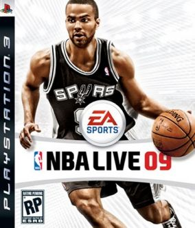 Copertina del gioco NBA Live 09 per PlayStation 3